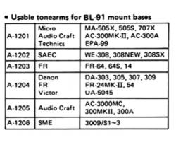 Micro Seiki BL-91 image no12