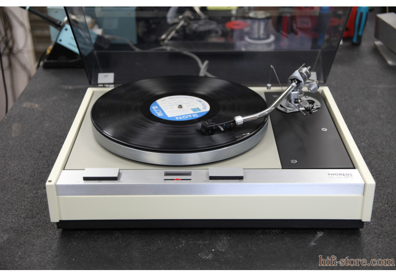 Thorens TD-125 MKII Blanche cover