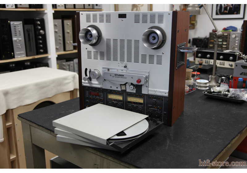 Studer A-807 cover